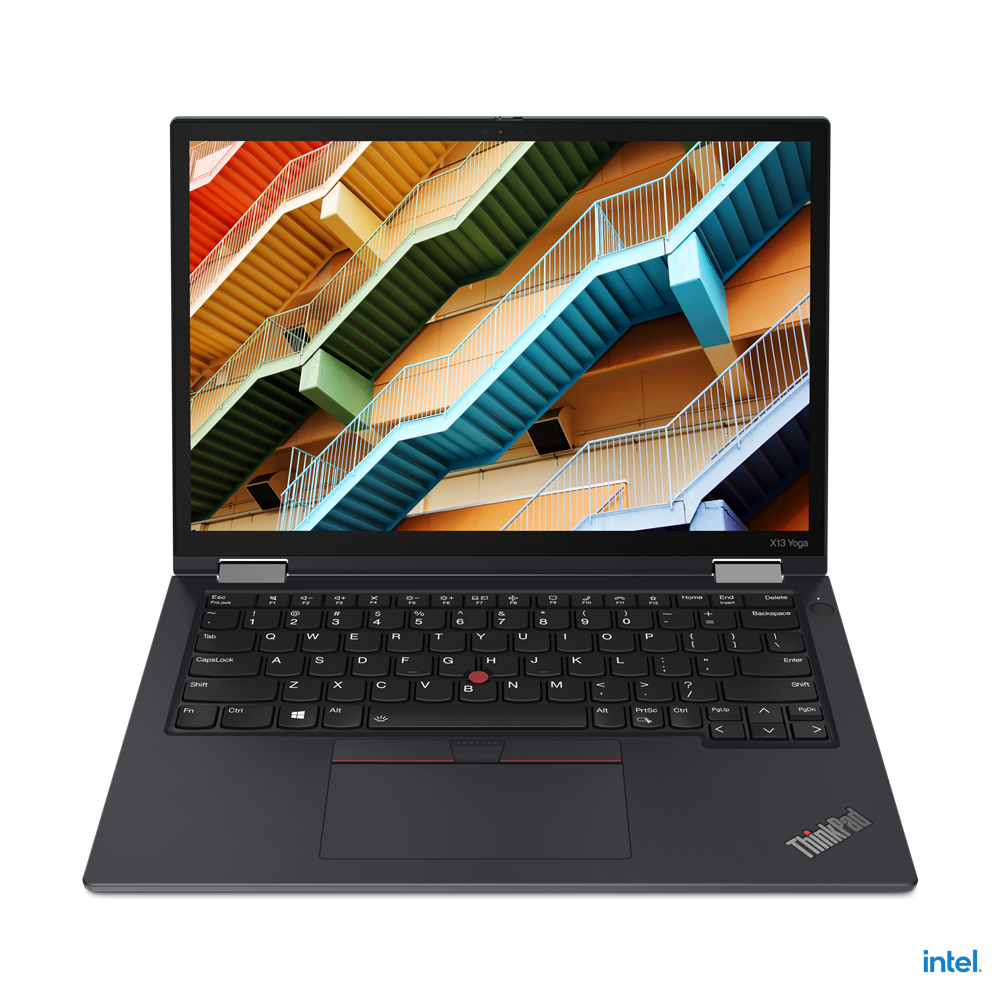 "Laptop Lenovo ThinkPad X13 Yoga Gen 2 (Intel), 13.3"" WQXGA (2560x1600) Low Power IPS 400nits AR (anti-reflection) / AS (anti-smudge), Touch, Lenovo Integrated Pen (Garaged), Intel Core i7-1165G7 (4C / 8T, 2.8 / 4.7GHz, 12MB), Video Integrated Intel Iris Xe Graphics, RAM 16GB Soldered LPDDR4x-4266 - imaginea 7"