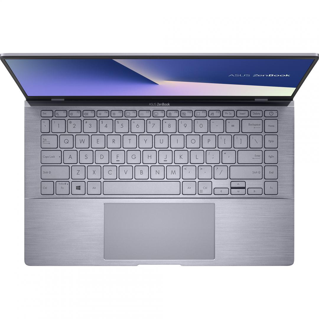 UltraBook ASUS ZenBook UM433IQ-A5024T, 14.0-inch, FHD (1920 x 1080) 16:9, Anti-glare display, IPS-level Panel, AMD Ryzen(T) 5 4500U Processor 2.3 GHz (8M Cache, up to 4.0 GHz, 6 cores), NVIDIA(R) GeForce(R) MX350, 8GB LPDDR4X on board, 512GB M.2 NVMe(T) PCIe(R) 3.0 SSD, 802.11ax+Bluetooth 5.0 (Dual - imaginea 5