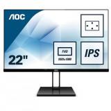"""Monitor 21.5"""" AOC 22V2Q, FHD 1920*1080, 75 Hz, WLED, IPS, 16:9, 5 ms,250 cd/mp, 1000:1/ 20M:1, 178/1 - imaginea 2"""