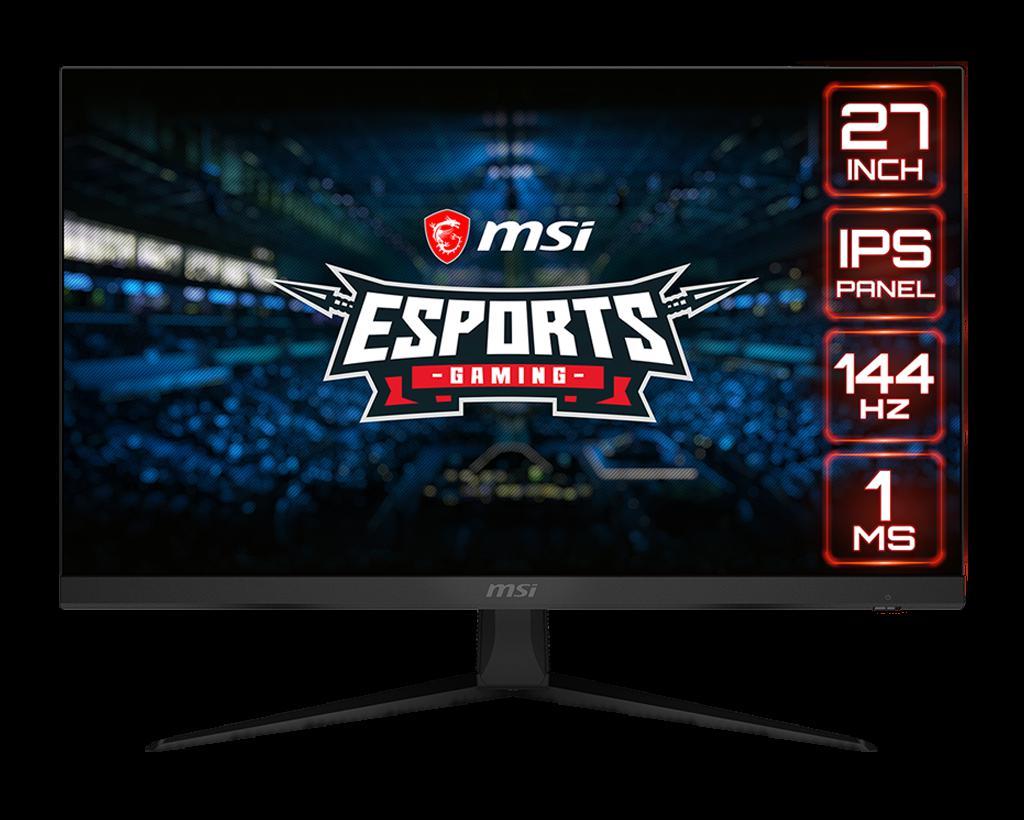 "Monitor Gaming MSI Optix G271 27"" FLAT FHD IPS 144Hz 1ms - imaginea 1"