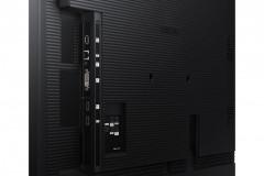"Ecran profesional LFD Monitor Signage Samsung QB75R, 75"" (191cm), UHD, Operare 16/7, Luminozitate 350nit, Timp Raspuns 8ms, Contrast 4000:1, Haze 2%, Tizen 4.0, MagicINFO S6, [...]; Conectivitate: WiFi, BT; INPUT: 1xDVI, 2xHDMI 2.0, HDCP2.2, 2xUSB2.0, 1xLAN, 1xRS232C, 1xIR, Audio In Stereo Mini - imaginea 4"