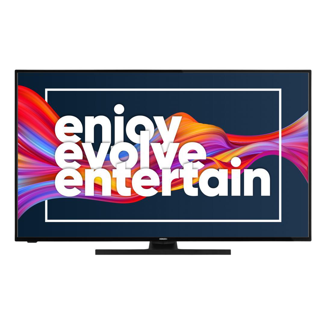 "LED TV HORIZON 4K-ANDROID 55HL7590U/B, 55"" D-LED, 4K Ultra HD (2160p), DolbyVision HDR / HLG + MicroDimming, Digital TV-Tuner DVB-S2/T2/C, CME 400Hz, Android TV 9.0 (Chromecast built-in) +GoogleAssistant +BT4.0, 1xLAN (RJ45), DLNA 1.5, Contrast 6000:1, 350 cd/m2, 1xCI+, 4xHDMI, 2xUSB, Dolby Audio - imaginea 2"