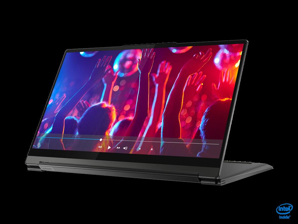 "Laptop Lenovo Yoga 9 14ITL5, 14"" UHD (3840x2160) IPS 500nits Glossy, Glass, 90% DCI-P3, VESA HDR 400, 10-point Multi-touch, Intel Core i7- 1185G7 (4C / 8T, 3.0 / 4.8GHz, 12MB), video Integrated Intel Iris Xe Graphics, RAM 16GB Soldered LPDDR4x-4266, SSD 1TB SSD M.2 2280 PCIe 3.0x4 NVMe, no ODD, No - imaginea 8"