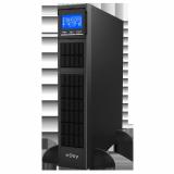 UPS nJoy Balder 3000, 3000VA/ 3000W, On-line, LCD Display, Montare Rack/Tower, 8 Prize IEC 13 1x IEC C19, Dubla conversie, Plaja larga de tensiuni acceptate, Eficienta impresionanta de pana la 96%, Frecventa: 40Hz ~ 70 Hz, Dimensiuni: 630 x 438 x 88 mm, Greutate: 27.5 kg - imaginea 1