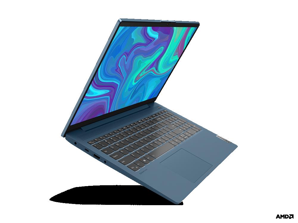 "Laptop Lenovo IdeaPad 5 15ARE05, 15.6"" FHD (1920x1080) IPS 300nits Anti- glare, 45% NTSC, AMD Ryzen 5 4600U (6C / 12T, 2.1 / 4.0GHz, 3MB L2 / 8MB L3), video Integrated AMD Radeon Graphics, RAM 8GB Soldered DDR4-3200, SSD 512GB SSD M.2 2280 PCIe 3.0x4 NVMe, no ODD, 4-in-1 Card Reader (MMC, SD, SDHC - imaginea 2"