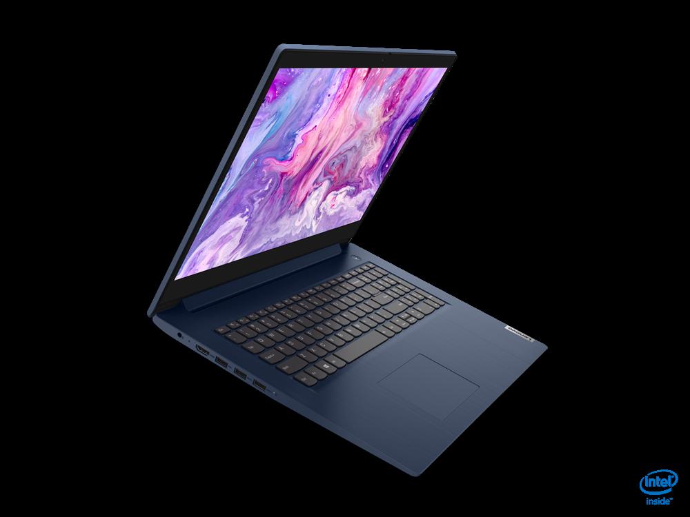 "Laptop Lenovo IP 3 17"" HD+ I3-1005G1  8GB 256 GB Intel UHD Graphics DOS - imaginea 3"