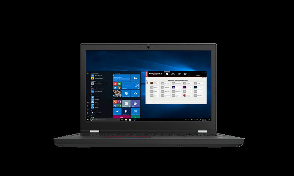 "Laptop Lenovo ThinkPad T15g Gen 2, 15.6"" UHD (3840x2160) IPS 600nits Anti-glare, 100% Adobe, Dolby Vision, HDR, Intel Core i7-11800H (8C / 16T, 2.3 / 4.6GHz, 24MB), Video NVIDIA GeForce RTX 3070 8GB GDDR6, RAM 2x 16GB SO-DIMM DDR4-3200 Non-ECC, SSD 1TB SSD M.2 2280 PCIe 4.0 NVMe Opal2, Optical: no - imaginea 1"