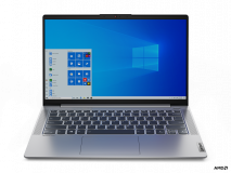 "Laptop Lenovo IdeaPad 5 14ALC05, 14"" FHD (1920x1080) IPS 300nits Anti- glare, 45% NTSC, AMD Ryzen 3 5300U (4C / 8T, 2.6 / 3.8GHz, 2MB L2 / 4MB L3), video AMD Radeon Graphics, RAM 8GB Soldered DDR4-3200, SSD 512GB SSD M.2 2242 PCIe 3.0x4 NVMe, no ODD, 4-in-1 Card Reader, Stereo speakers, 2W x2, Dolby - imaginea 1"