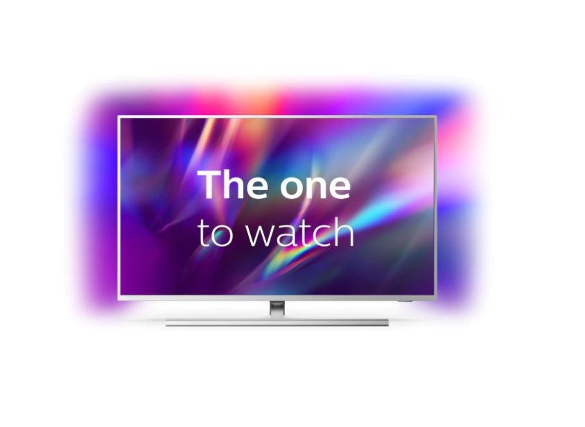 Televizor, PHILIPS, 50PUS8545/12, 126 cm, Smart Android, 4K Ultra HD, LED, Clasa G, HDR, Android, YouTube, Netflix, HBOGo, Comenzi vocale, Asistent vocal inteligent, Screen Mirroring, Ambilight, Google assistant, Quad core, 3840 x 2160, HLG, Dolby Vision, HDR 10+, Procesor P5 Perfect Picture, DVB-C - imaginea 1