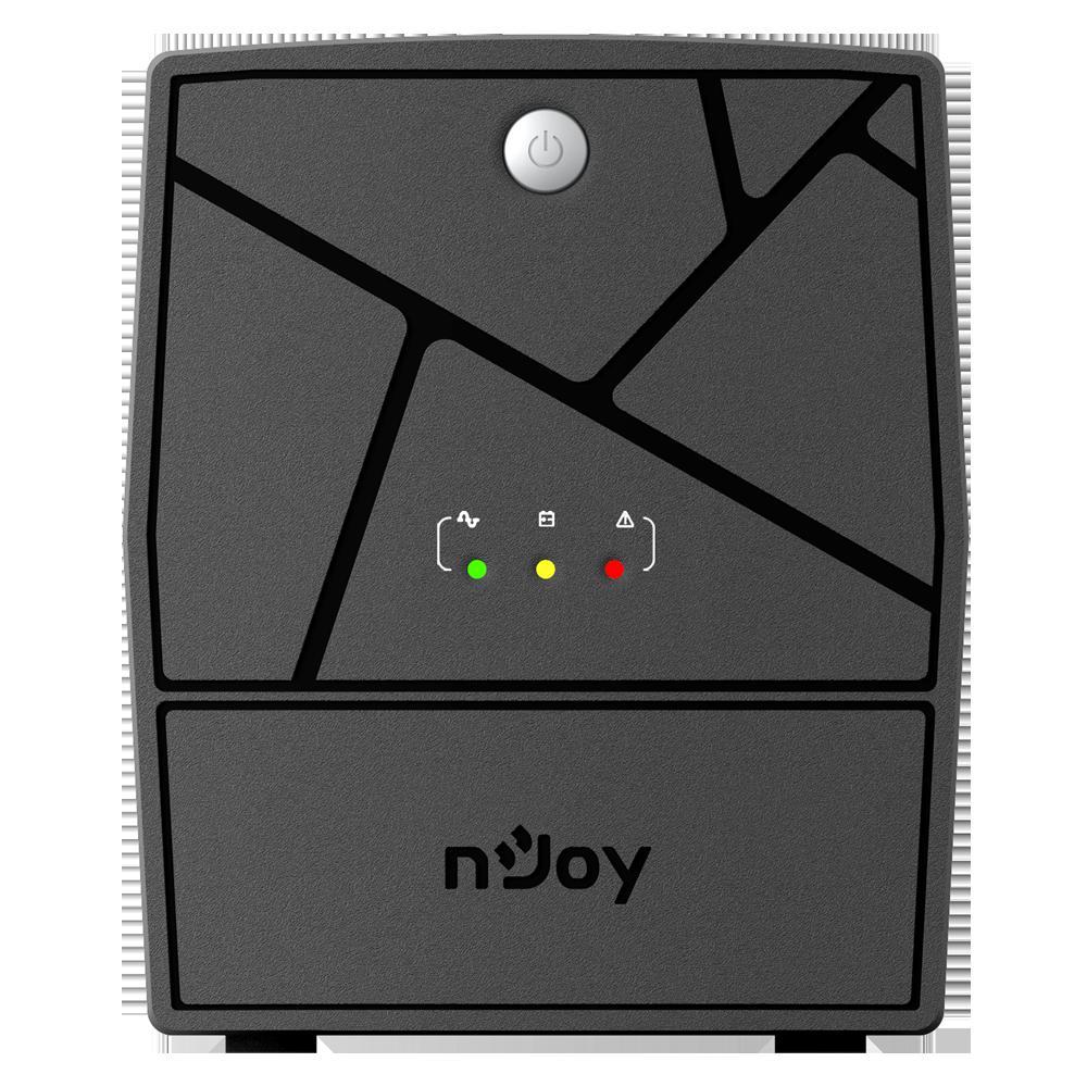 UPS NJOY Keen 1000, 1000 VA/600W, Line-interactive, 4 Prize Schuko cu Protectie, Repornire Automata, Reglaj Automat al Tensiunii - imaginea 2