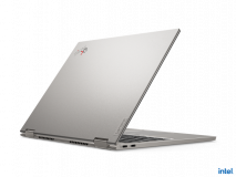 "Laptop Lenovo ThinkPad X1 Titanium Yoga Gen 1, 13.5"" QHD (2256x1504) IPS 450nits AR (anti-reflection) / AS (anti-smudge), Touch, Intel Core i7- 1160G7 (4C / 8T, 2.1 / 4.4GHz, 12MB), Video Integrated Intel Iris Xe Graphics, RAM 16GB Soldered LPDDR4x-4266, POP Memory, SSD 1TB SSD M.2 2242 PCIe 3.0x4 - imaginea 1"