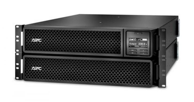 UPS APC Smart-UPS SRT online dubla-conversie 2200VA / 1980W 8 conectori C13 2 conectori C19 extended runtime, baterie RBC31rackabil - imaginea 1