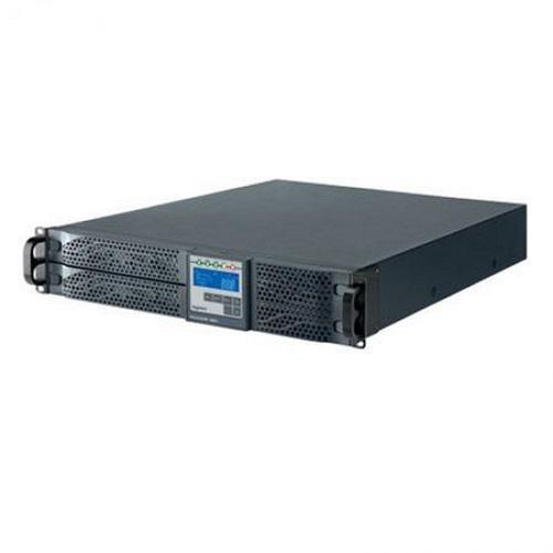 UPS Legrand Daker DK Plus, 2000VA/ 1800W, tip online cu dubla conversie, forma Rack/Tower, 0.9 capacitate putere, port comunicare-RS- 232/USB, 6 x IEC socket, baterie: 6 x 12 V / 7.2 Ah, frecventa baterie (Hz): 50/60 Hz ± 0.1, 230V, dimensiuni (W x D x H mm): 600x440x88, culoare negru - imaginea 3