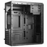 """Desktop PC Horizon, Intel Celeron 3.2Ghz LGA 1511 Intel® UHD Graphics 610, RAM 1x 8GB 2666 U-DIMM CL19, 1TB HDD 7200rpm 3.5"""", no ODD, Porturi: Front: 2x USB 2.0 / x1 USB 3.0/ 1x headphone / microphone ; Rear:  1x DP/ 1x HDMI/ Intel GbE LAN/, Black, greutate  dimensiuni 365 x 175 x 405 mm, 2-year - imaginea 2"""