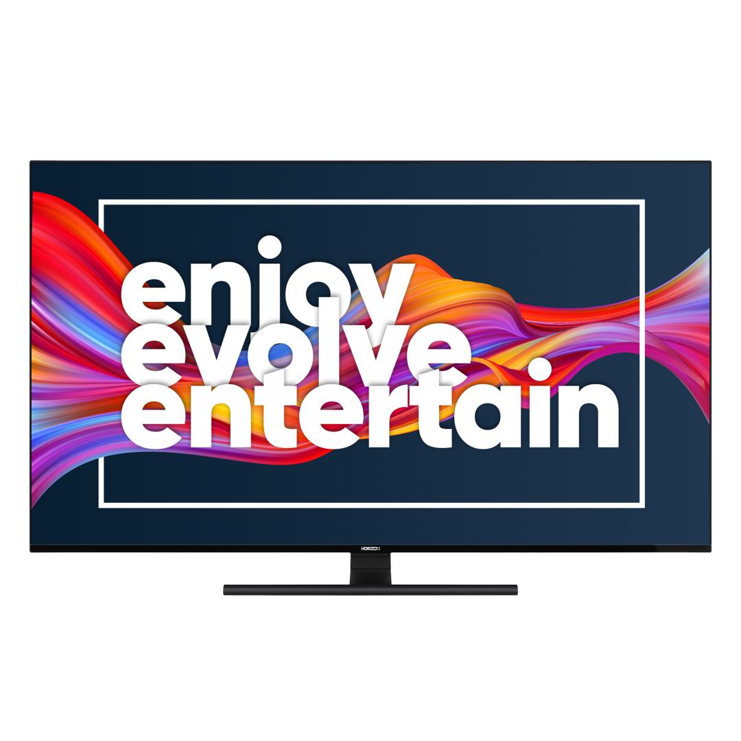 "LED TV 65"" HORIZON 4K-SMART 65HL8530U/BA, Direct LED, 4K Ultra HD (3840 x 2160), DVB-S2/T2/C, Very Narrow Design (12mm), Dolby Vision, HDR10, HLG, CME 800, WiFi Built-In, Wireless Display, DLNA, HORIZON Smart TV, ( Netflix, YouTube, Prime Video), Contrast 6000:1, 350 cd/m2, CI+, 4xHDMI, 2xUSB, Hotel - imaginea 2"