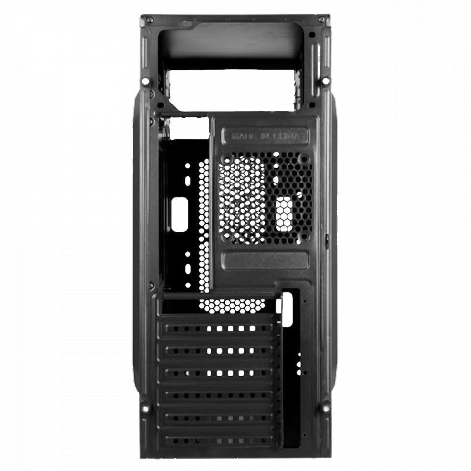"""Desktop PC Horizon, Intel Celeron 3.2Ghz LGA 1511 Intel® UHD Graphics 610, RAM 1x 8GB 2666 U-DIMM CL19, 1TB HDD 7200rpm 3.5"""", no ODD, Porturi: Front: 2x USB 2.0 / x1 USB 3.0/ 1x headphone / microphone ; Rear:  1x DP/ 1x HDMI/ Intel GbE LAN/, Black, greutate  dimensiuni 365 x 175 x 405 mm, 2-year - imaginea 3"""