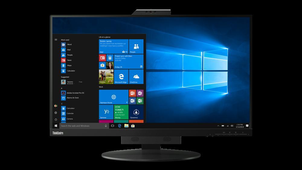 "Monitor Lenovo ThinkCentre Tiny-In-One 2727"" IPS, QHD (2560x1440) - imaginea 1"
