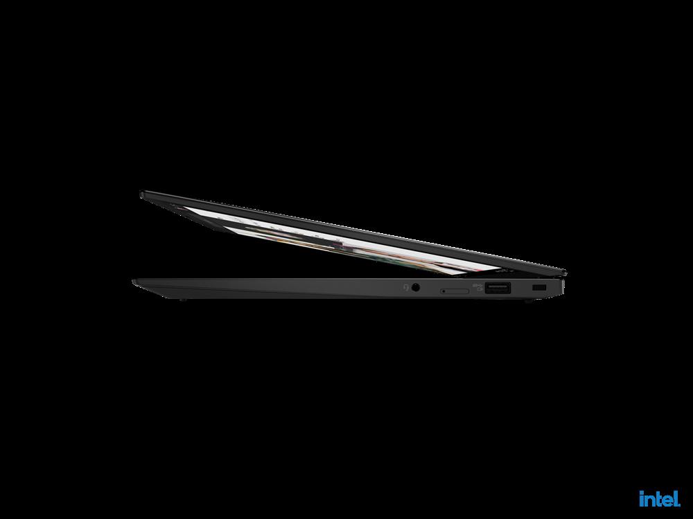 "Laptop Lenovo ThinkPad X1 Carbon Gen 9, 14"" FHD+ (1920x1200) IPS 400nits Anti-glare, Intel Core i7-1165G7 (4C / 8T, 2.8 / 4.7GHz, 12MB), Video Integrated Intel Iris Xe Graphics, RAM 16GB Soldered LPDDR4x-4266, SSD 512GB SSD M.2 2280 PCIe 4.0x4 Performance NVMe Opal2, Optical: no ODD, No card reader - imaginea 8"