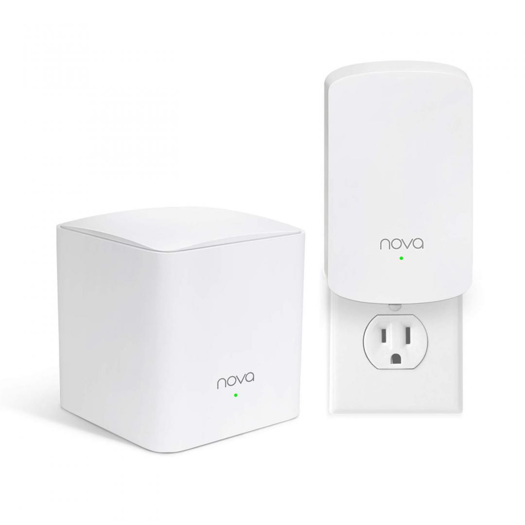 Tenda AC1200 Whole Home Mesh WiFi System, MW5(2-PACK); Standard and Protocol: 1 x10/100/1000Mbps WAN/LAN Ethernet ports,1 x10/100/1000Mbps LAN Ethernet ports; 2x 3dBi Built-in Omni-directional antennas; Wireless Standards: IEEE 802.11ac/a/n 5GHz, IEEE 802.11b/g/n 2.4GHz; Data Rate: 5GHz: Up to - imaginea 1
