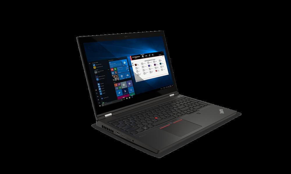 "Laptop Lenovo ThinkPad P15 Gen 2, 15.6"" FHD (1920x1080) IPS 500nits Anti-glare, 100% sRGB, Dolby Vision, Intel Core i7-11850H (8C / 16T, 2.5 / 4.8GHz, 24MB), Video NVIDIA RTX A2000 4GB GDDR6, RAM 2x 8GB SO-DIMM DDR4-3200 Non-ECC, SSD 512GB SSD M.2 2280 PCIe 4.0 NVMe Opal2, Optical: no ODD, SD - imaginea 2"