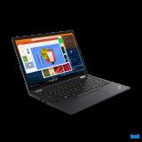 "Laptop Lenovo ThinkPad X13 Yoga Gen 2 (Intel), 13.3"" WQXGA (2560x1600) Low Power IPS 400nits AR (anti-reflection) / AS (anti-smudge), Touch, Lenovo Integrated Pen (Garaged), Intel Core i7-1165G7 (4C / 8T, 2.8 / 4.7GHz, 12MB), Video Integrated Intel Iris Xe Graphics, RAM 16GB Soldered LPDDR4x-4266 - imaginea 2"