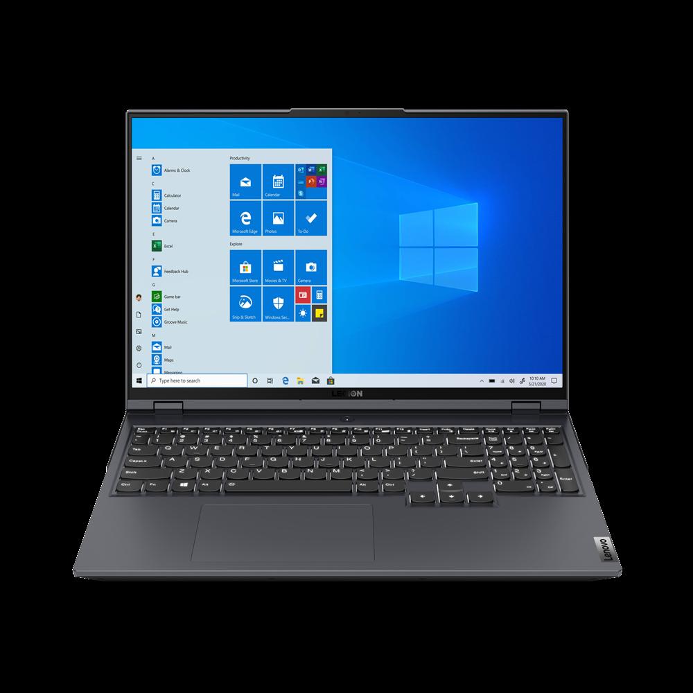 "Laptop Lenovo Gaming Legion 5 Pro 16ACH6, 16"" WQXGA (2560x1600) IPS 500nits Anti-glare, 165Hz, 100% sRGB, Dolby Vision, HDR 400, Free-Sync, G-Sync, DC dimmer, AMD Ryzen 5 5600H (6C / 12T, 3.3 / 4.2GHz, 3MB L2 / 16MB L3), video NVIDIA GeForce RTX 3050 Ti 4GB GDDR6, Boost Clock 1485 / 1695MHz, TGP - imaginea 4"