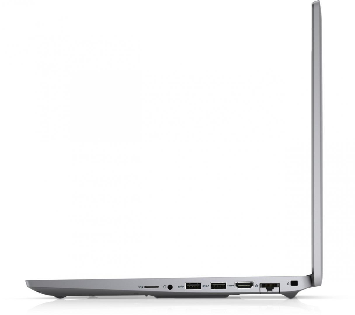"""Workstation Dell Mobile Precision 3560, 15.6"""" FHD, i7-1165G7, 16GB, 512GB SSD, Nvidia T500, W10 Pro - imaginea 4"""