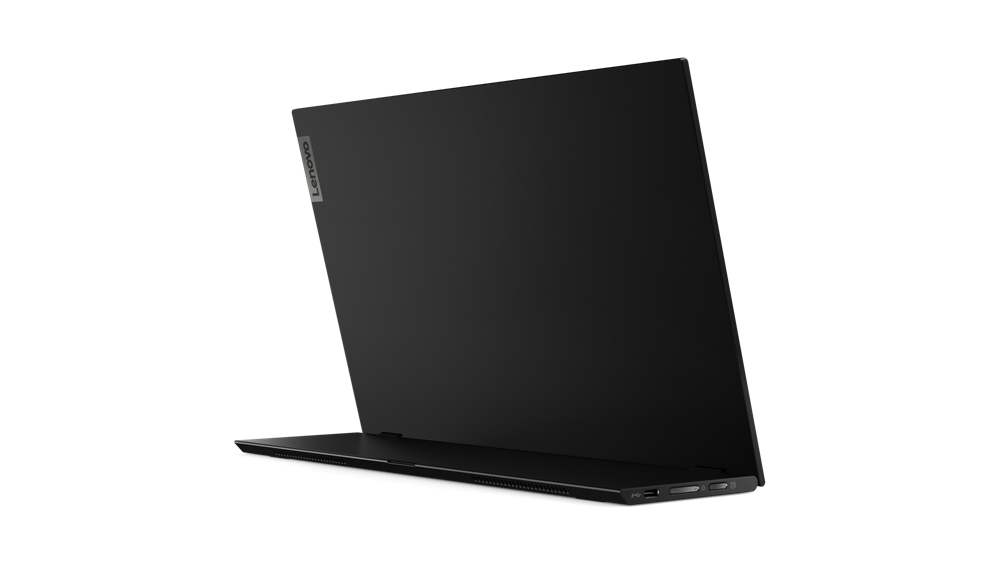 """Monitor Lenovo ThinkVision M1414"""" IPS, FHD (1920x1080), 16:9 ,Luminozitate: 300 nits, Contrast ratio: 700.:1, Response time: 6 ms, Dot/ Pixel Per Inch: 157 dpi, Color Gamut: 72% NTSC, View angle: 178 / 178,Stand: Tilt, Height Adjust Stand, Side Bezel Width: 5.48 mm, Dimensiune(cu stand) - imaginea 6"""