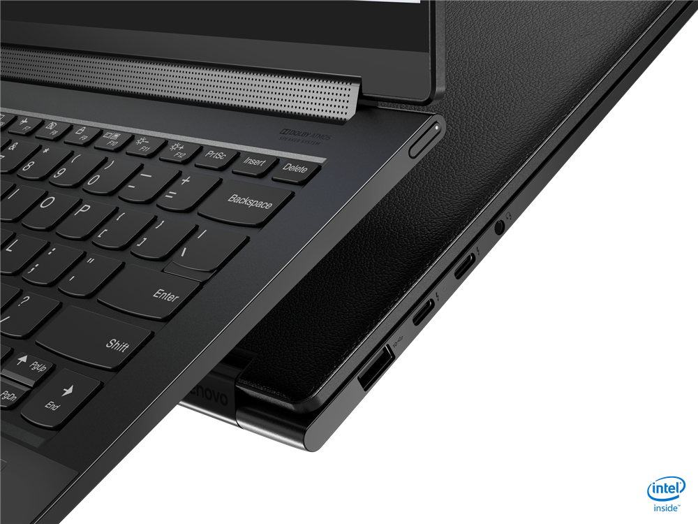 """Laptop Lenovo Yoga 7 14ITL5, 14"""" FHD (1920x1080) IPS 300nits Glossy, 72% NTSC, AGC Dragontrail glass, 10-point Multi-touch, Intel Core i7-1165G7 (4C / 8T, 2.8 / 4.7GHz, 12MB), video Integrated Intel Iris Xe Graphics, RAM 16GB Soldered DDR4-3200, SSD 1TB SSD M.2 2280 PCIe 3.0x4 NVMe, no ODD, No Card - imaginea 4"""