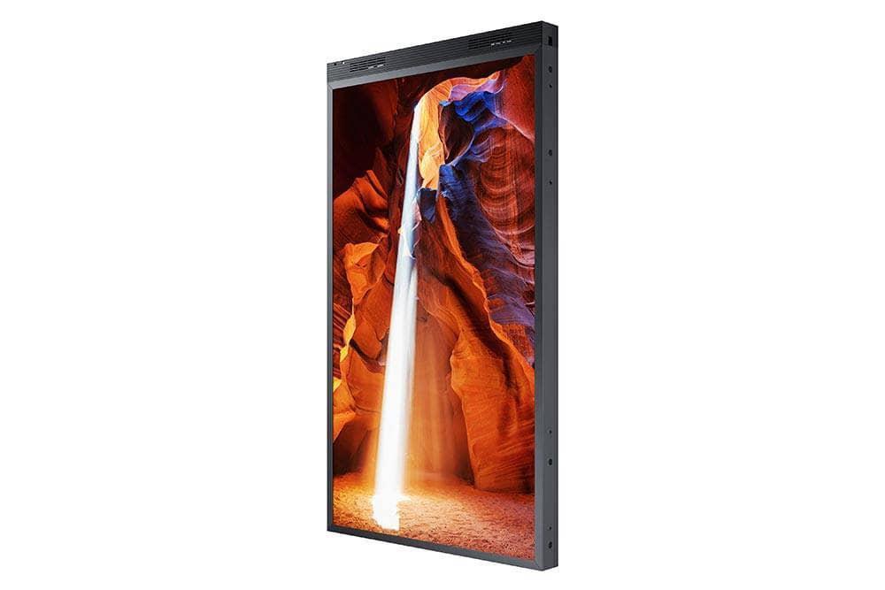 "Ecran profesional Monitor HighBrightness Samsung OM55N-D, Dublu Ecran, 55"" (140cm), FHD, Operare 24/7, Luminozitate 3000+1000nit, Timp Raspuns 6ms, Contrast 5000:1, Haze 0, Tizen 4.0, MagicINFO S6, [...]; Conectivitate: WiFi; INPUT: 2xHDMI 2.0, HDCP2.2, 2xUSB2.0, 1xLAN, 1xRS232C, 1xIR; IP5x - imaginea 2"