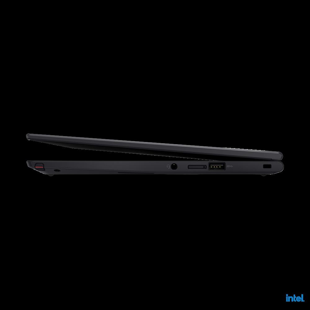 "Laptop Lenovo ThinkPad X13 Yoga Gen 2 (Intel), 13.3"" WQXGA (2560x1600) Low Power IPS 400nits AR (anti-reflection) / AS (anti-smudge), Touch, Lenovo Integrated Pen (Garaged), Intel Core i7-1165G7 (4C / 8T, 2.8 / 4.7GHz, 12MB), Video Integrated Intel Iris Xe Graphics, RAM 16GB Soldered LPDDR4x-4266 - imaginea 16"