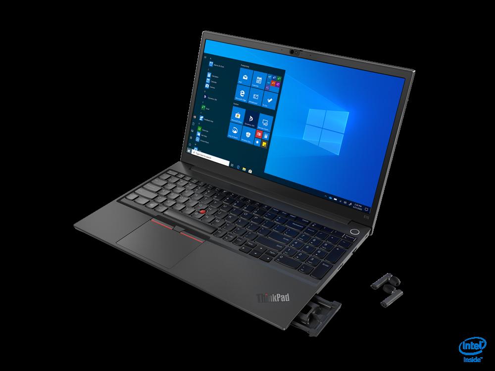 "Laptop Lenovo ThinkPad E15 Gen 2 (Intel), 15.6"" FHD (1920x1080) IPS 250nits Anti-glare, Intel Core i3-1115G4 (2C / 4T, 3.0 / 4.1GHz, 6MB), Video Integrated Intel UHD Graphics, RAM 1x 8GB SO-DIMM DDR4-3200, SSD 256GB SSD M.2 2242 PCIe 3.0x4 NVMe, Optical: no ODD, No card reader, Speakers: Stereo - imaginea 3"
