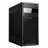 """Desktop PC Horizon, Intel Celeron 3.2Ghz LGA 1511 Intel® UHD Graphics 610, RAM 1x 8GB 2666 U-DIMM CL19, 1TB HDD 7200rpm 3.5"""", no ODD, Porturi: Front: 2x USB 2.0 / x1 USB 3.0/ 1x headphone / microphone ; Rear:  1x DP/ 1x HDMI/ Intel GbE LAN/, Black, greutate  dimensiuni 365 x 175 x 405 mm, 2-year - imaginea 1"""