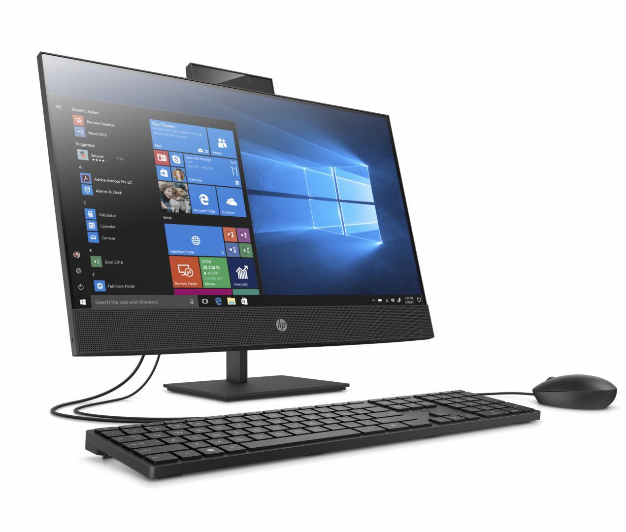 """AIO HP PROONE 440G6 23.8"""" TOUCH i5-10500T 8GB 256GB UMA W10P Fixed stand - imaginea 2"""