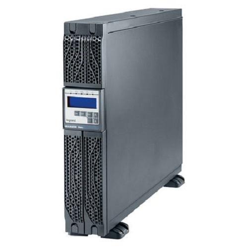 UPS Legrand Daker DK Plus, 2000VA/ 1800W, tip online cu dubla conversie, forma Rack/Tower, 0.9 capacitate putere, port comunicare-RS- 232/USB, 6 x IEC socket, baterie: 6 x 12 V / 7.2 Ah, frecventa baterie (Hz): 50/60 Hz ± 0.1, 230V, dimensiuni (W x D x H mm): 600x440x88, culoare negru - imaginea 1