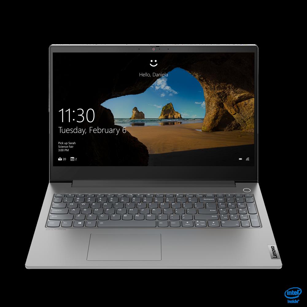 "Laptop Lenovo ThinkBook 15p IMH, 15.6"" UHD (3840x2160) I5-10300H 16GB 512GB 1650TI 1YD W10P - imaginea 1"
