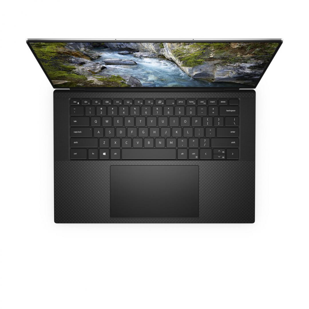 "Workstation Dell Mobile Precision 5550, 15.6"" FHD+ (1920x1200), i7-10750H, 8GB, 256GB SSD, NVIDIA Quadro T1000, Ubuntu - imaginea 2"
