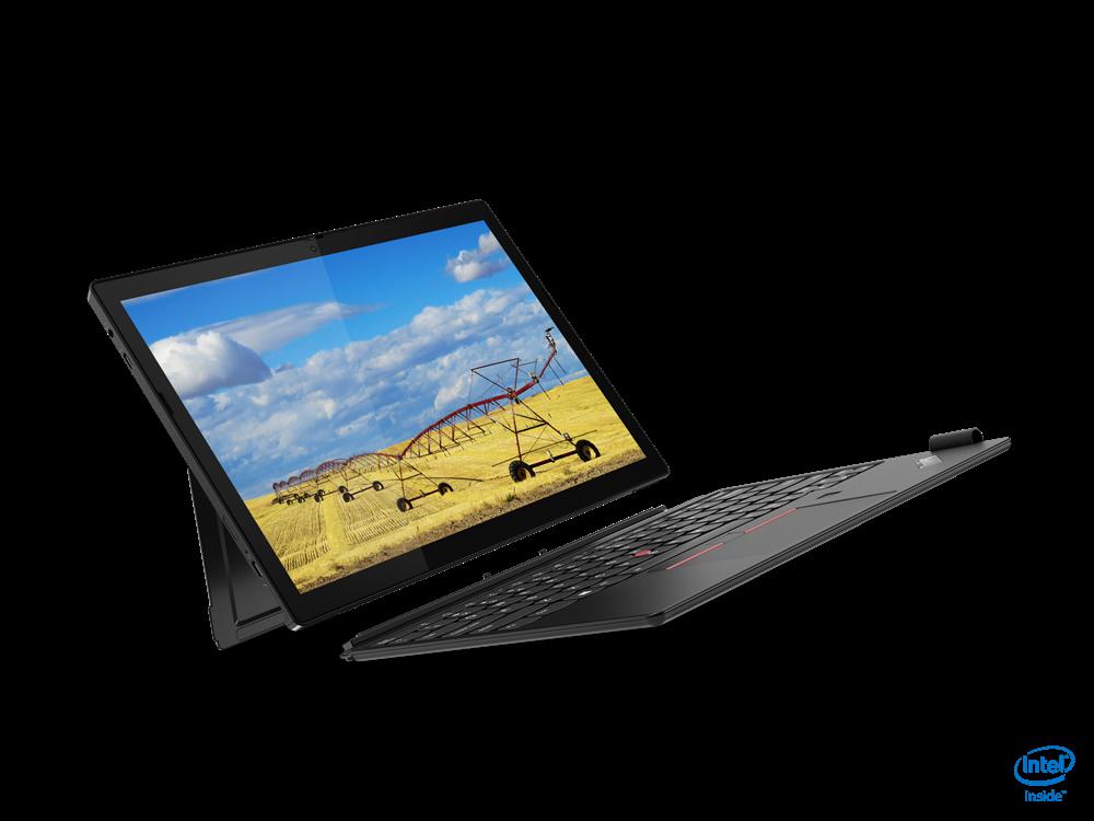 "Laptop Lenovo ThinkPad X12 Detachable, 12.3"" FHD (1920x1280) IPS 400nits AR (anti-reflection) / AS (anti-smudge), Intel Core i5-1130G7 (4C / 8T, 1.8 / 4.0GHz, 8MB), Video Integrated Intel Iris Xe Graphics, RAM 16GB Soldered LPDDR4x-4266, SSD 512GB SSD M.2 2242 PCIe 3.0x4 NVMe, Optical: no ODD, No - imaginea 6"