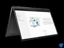 "Laptop Lenovo Yoga 9 14ITL5, 14"" UHD (3840x2160) IPS 500nits Glossy, Glass, 90% DCI-P3, VESA HDR 400, 10-point Multi-touch, Intel Core i7- 1185G7 (4C / 8T, 3.0 / 4.8GHz, 12MB), video Integrated Intel Iris Xe Graphics, RAM 16GB Soldered LPDDR4x-4266, SSD 1TB SSD M.2 2280 PCIe 3.0x4 NVMe, no ODD, No - imaginea 9"