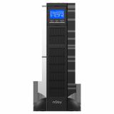 UPS nJoy Balder 3000, 3000VA/ 3000W, On-line, LCD Display, Montare Rack/Tower, 8 Prize IEC 13 1x IEC C19, Dubla conversie, Plaja larga de tensiuni acceptate, Eficienta impresionanta de pana la 96%, Frecventa: 40Hz ~ 70 Hz, Dimensiuni: 630 x 438 x 88 mm, Greutate: 27.5 kg - imaginea 2