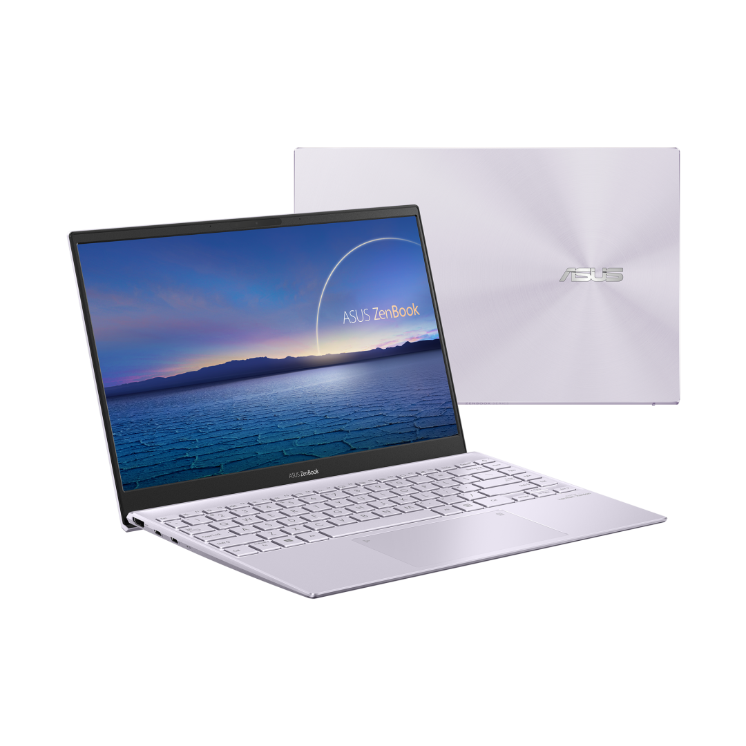 UltraBook ASUS ZenBook UX325EA-KG347T, 13.3-inch, FHD (1920 x 1080) 16:9, OLED, Glossy display, Intel® Core™ i5-1135G7 Processor 2.4 GHz (8M Cache, up to 4.2 GHz, 4 cores), Intel Iris Xᵉ Graphics (available for 11th Gen Intel® Core™ i5/i7 with dual channel memory), 8GB LPDDR4X on board, 512GB M.2 - imaginea 1
