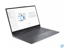 """Laptop Lenovo Yoga 7 15ITL5, 15.6"""" FHD (1920x1080) IPS 500nits Glossy, 100% sRGB, HDR 400, Dolby Vision, AGC Soda-lime glass, Intel Core i7- 1165G7 (4C / 8T, 2.8 / 4.7GHz, 12MB), video Integrated Intel Iris Xe Graphics, RAM 16GB Soldered DDR4-3200, SSD 1TB SSD M.2 2280 PCIe 3.0x4 NVMe, no ODD, No - imaginea 2"""