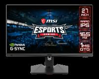 """Monitor Gaming MSI Optix MAG274QRF-QD 27"""" FLAT WQHD QD 165H - imaginea 1"""