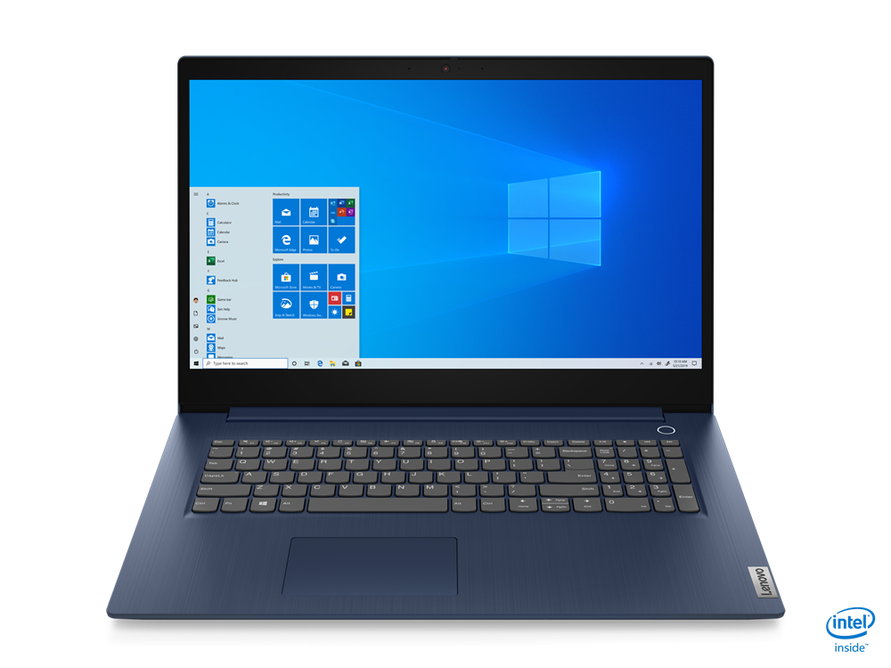 "Laptop Lenovo IP 3 17"" HD+ I3-1005G1  8GB 256 GB Intel UHD Graphics DOS - imaginea 1"