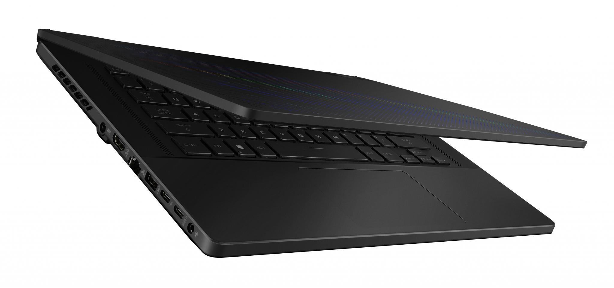 Laptop Gaming ASUS ROG Zephyrus M16 GU603HR-K8005, 16-inch, WQXGA (2560 x 1600) 16:10, Anti-glare display, IPS-level Panel, Intel® Core™ i7-11800HProcessor2.3GHz(24MCache,upto4.6GHz,8Cores), NVIDIA®GeForceRTX™3070 Laptop GPU, With ROG Boost up to 1390MHz at 80W (100W with Dynamic - imaginea 5
