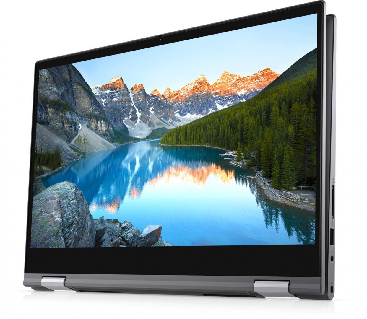 "Laptop Dell Inspiron 5406 2in1, 14.0"" FHD, Touch, i5-1135G7, 8GB, 256GB SSD, Intel Iris Xe Graphics, W10 Pro - imaginea 5"