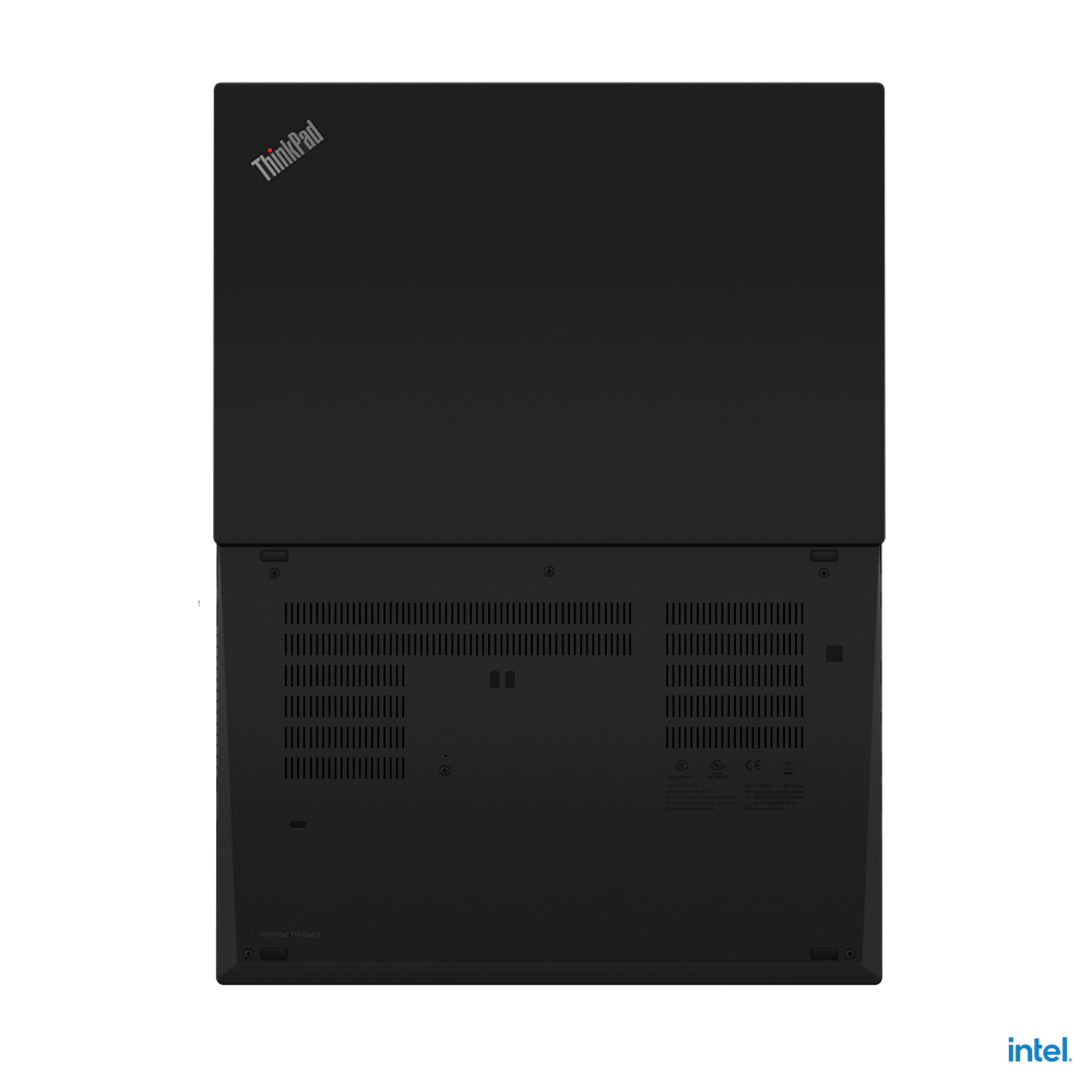 "Laptop Lenovo ThinkPad T14 Gen 2 (Intel), 14"" FHD (1920x1080) Low Power IPS 400nits Anti-glare, Intel Core i7-1165G7 (4C / 8T, 2.8 / 4.7GHz, 12MB), Video NVIDIA GeForce MX450 2GB GDDR6, RAM 16GB Soldered DDR4- 3200, SSD 1TB SSD M.2 2280 PCIe x4 NVMe Opal2, Optical: no ODD, MicroSD Reader, Speakers - imaginea 2"