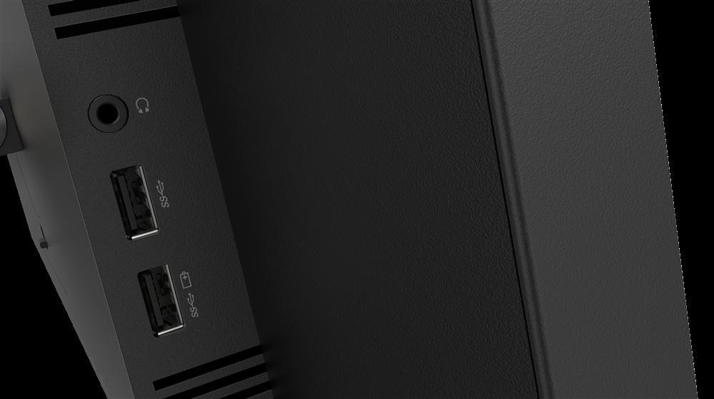 "Monitor Lenovo ThinkVision T27q-2027"" IPS, QHD (2560x1440), 16:9, Luminozitate: 350 nits, Contrast ratio: 1000:1, Response time: 4 ms (Extreme mode) / 6 ms (Typical mode) / 14 ms (off mode), Dot / Pixel Per Inch: 109 dpi, Color Gamut: 99% sRGB, View angle: 178 / 178, Stand: Tilt, Swivel, Pivot - imaginea 9"