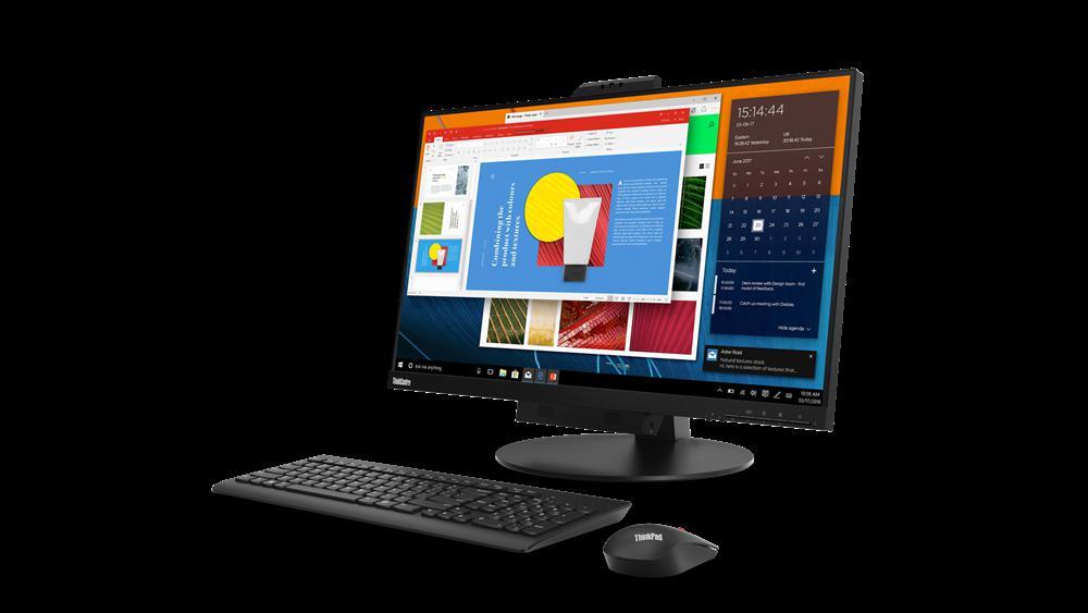 "Monitor Lenovo ThinkCentre Tiny-In-One 2727"" IPS, QHD (2560x1440) - imaginea 3"