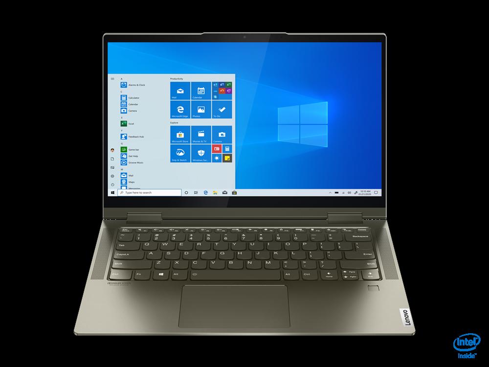 "Laptop Lenovo Yoga 7 14"" FHD, Touch I7-1165G7  16GB 512 GB Intel Iris XeGraphics W10H - imaginea 5"